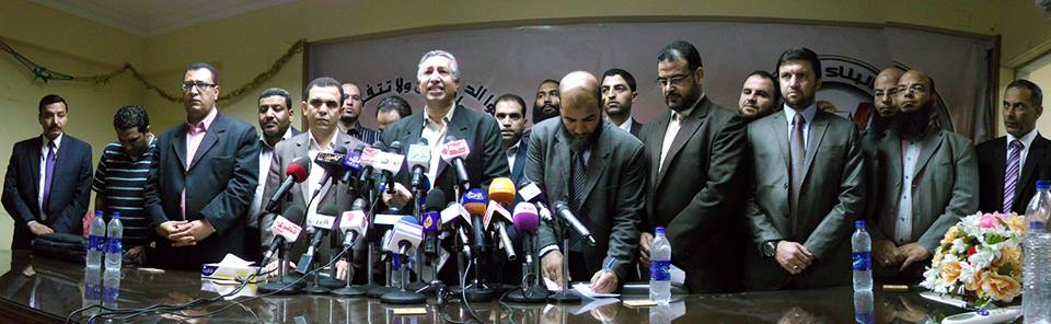 Spokesman for the party Khaled Al-Sherif accused the opposition of attempting to drag the country into violence (Photo from the Building and Development Party)