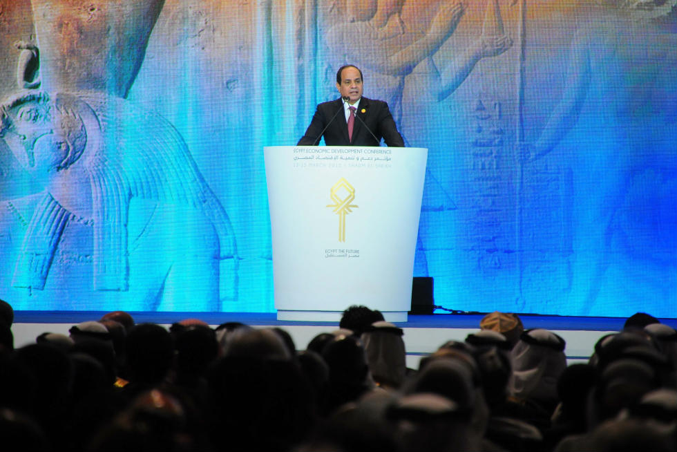 """Egypt is waking up now, we are having a new start"" – this was how President Abdel Fattah Al-Sisi ended the summit."