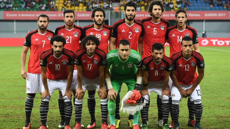 Image result for egypt afcon team photo