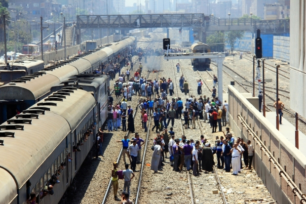 Train and Superjet bus tickets will be provided for free, for 48 hours, to Egyptian citizens who wish to travel to their voting station: Ministry of Transportation (AFP Photo)
