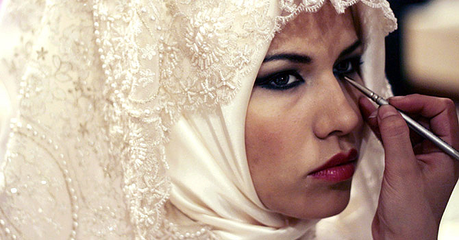 Turkish veil (AFP Photo)