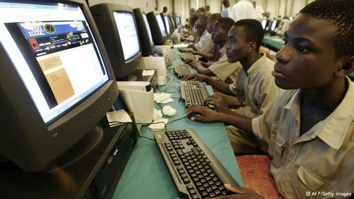 Computers are playing a major role in speeding development in Africa (AFP File Photo)
