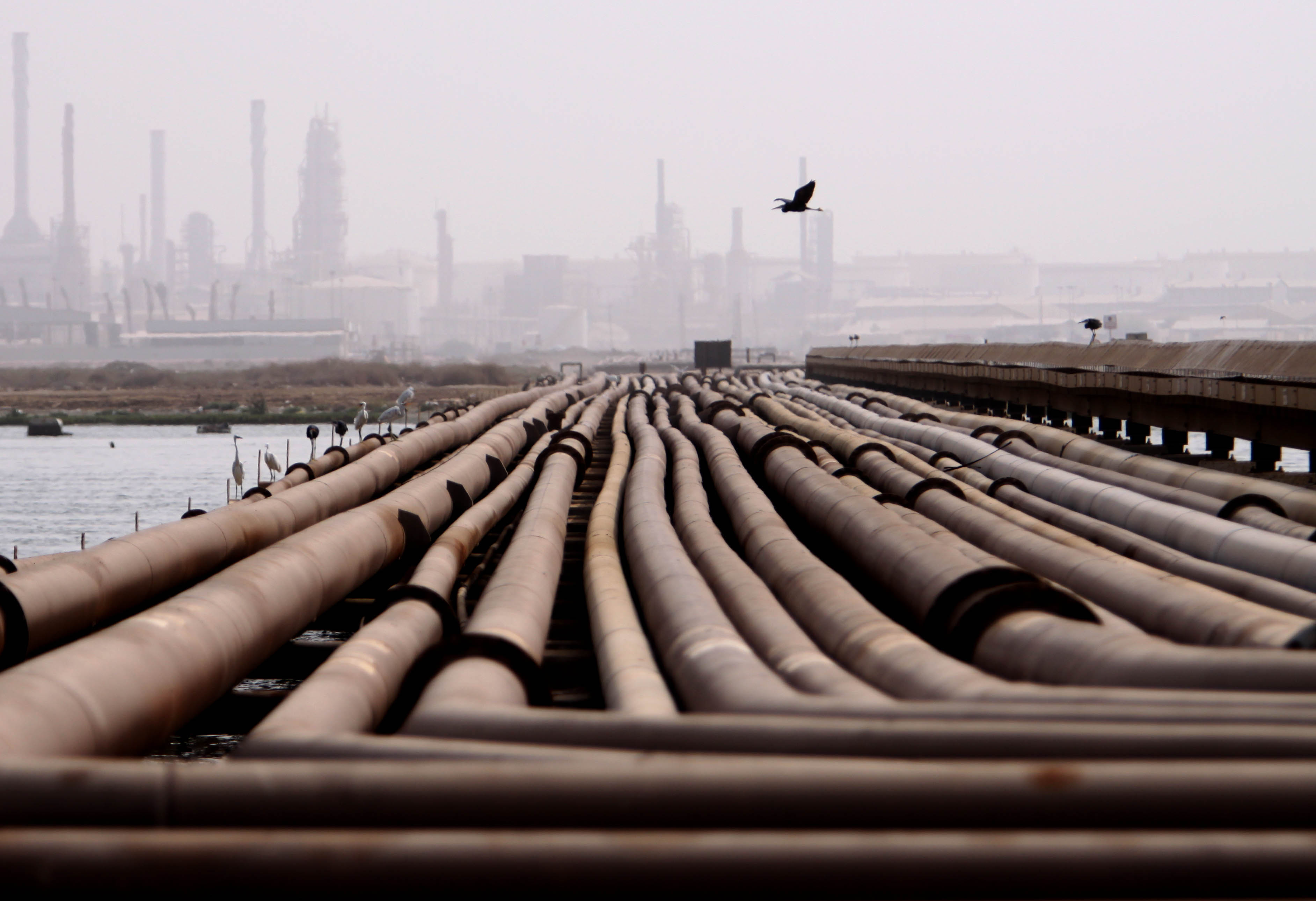 EGAS aims at increasing gas production by 0.1bn cubic feet per day by the end of the month.  (AFP photo)