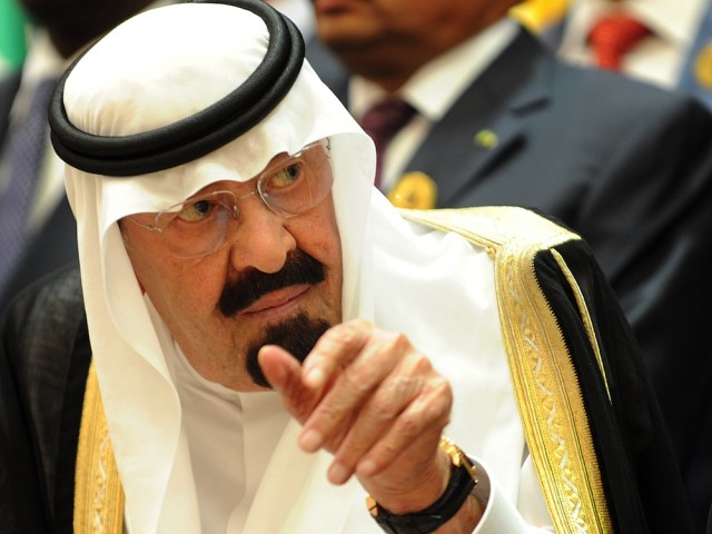 King Abdullah bin Abdulaziz Al-Saud of Saudi Arabia has called for a conference to discuss economic support for Egypt. (AFP Photo)