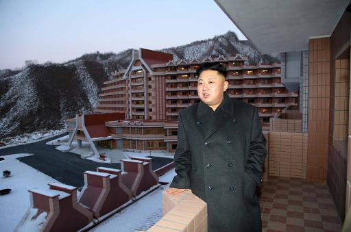 An undated picture released from North Korea's official Korean Central News Agency (KCNA) on December 15, 2013 shows North Korean leader Kim Jong (KCNA via KNS/AFP)