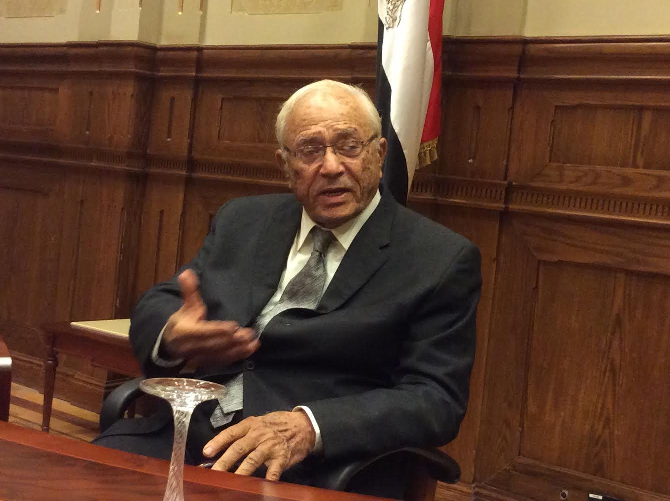 Fouad Abdel-Moneim Riad, a prominent Egyptian lawyer (DNE Photo)
