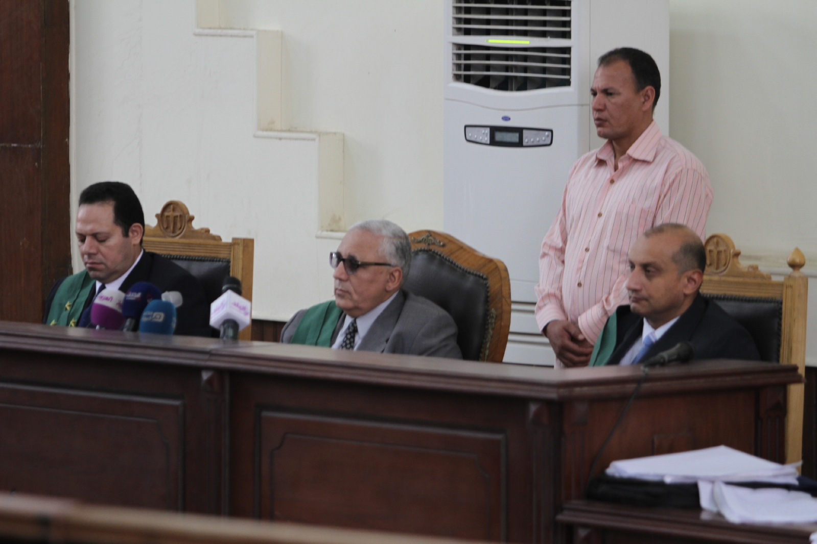 A Giza criminal court upheld Sunday a death sentence given to a man, named Anas Shahine, accused of belonging to and financing an illegal criminal cell, as well as collaborating with Hamas. (DNE File Photo)