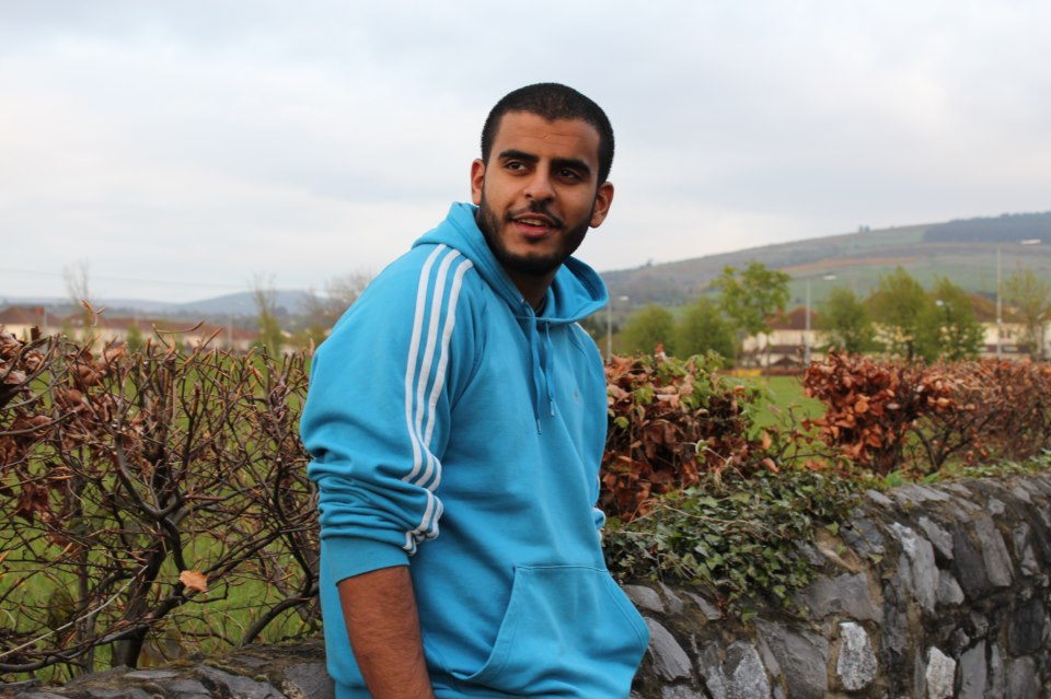 Irish Egyptian Ibrahim Halawa was arrested in Al-Fath mosque last year. (Photo provided by Ibrahim Halawa's family)