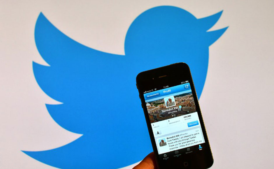 Twitter Inc. stock has surged 150% since it went public in November (AFP Photo)