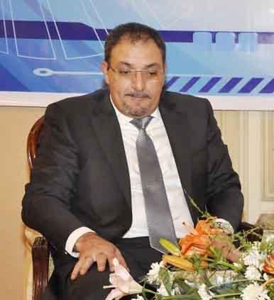 Ahmed El-Akkad, chairman of the Alexandria Chamber of Shipping