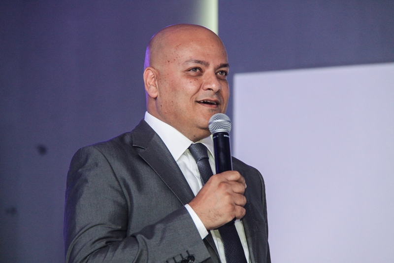 Samsung creates innovative appliances through understanding human behaviour, head of the Home Appliance Division of Samsung Egypt, Ayman Saber says. (Photo courtesy of Samsung Egypt)