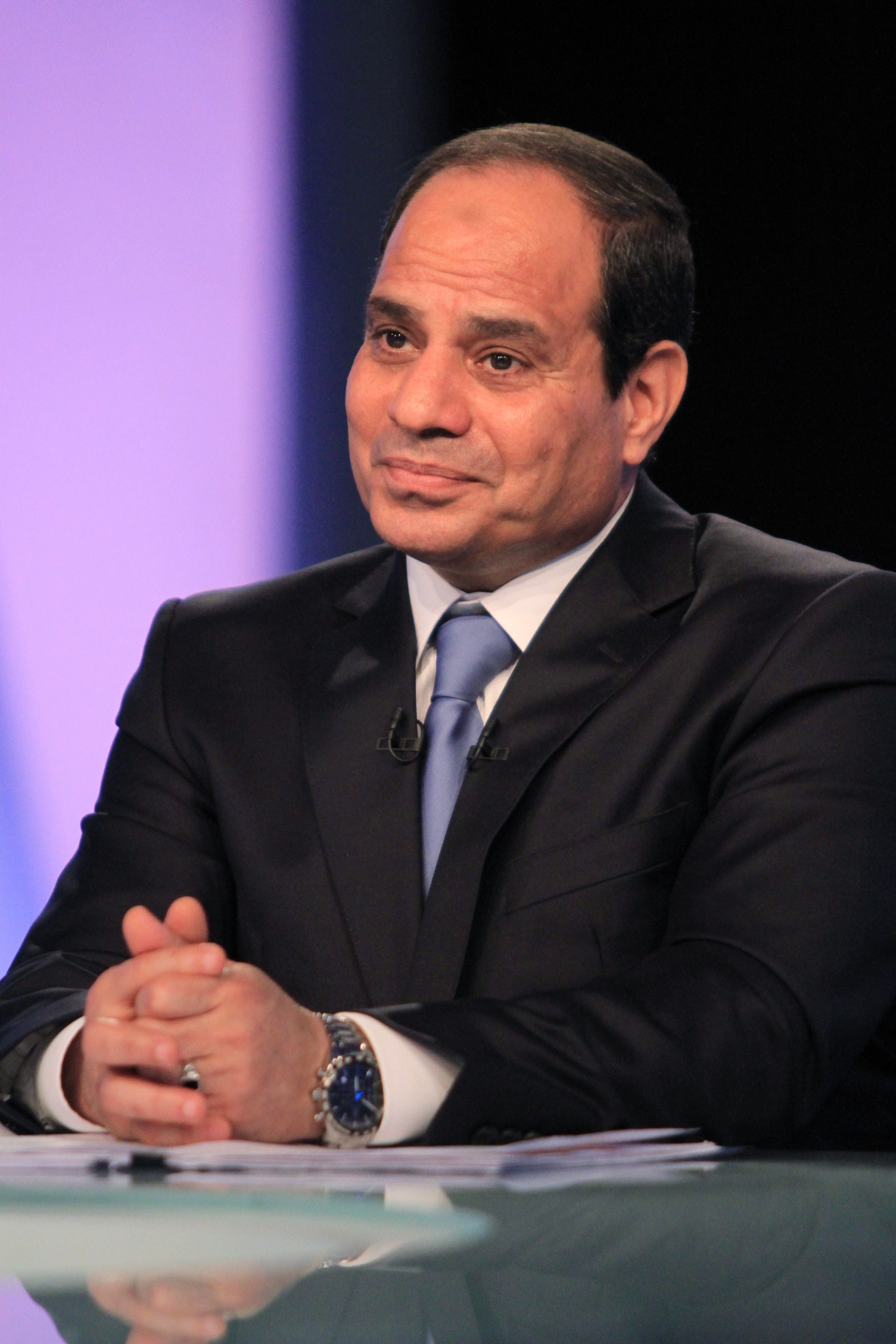 President Abdel Fattah Al-Sisi (AFP Photo)