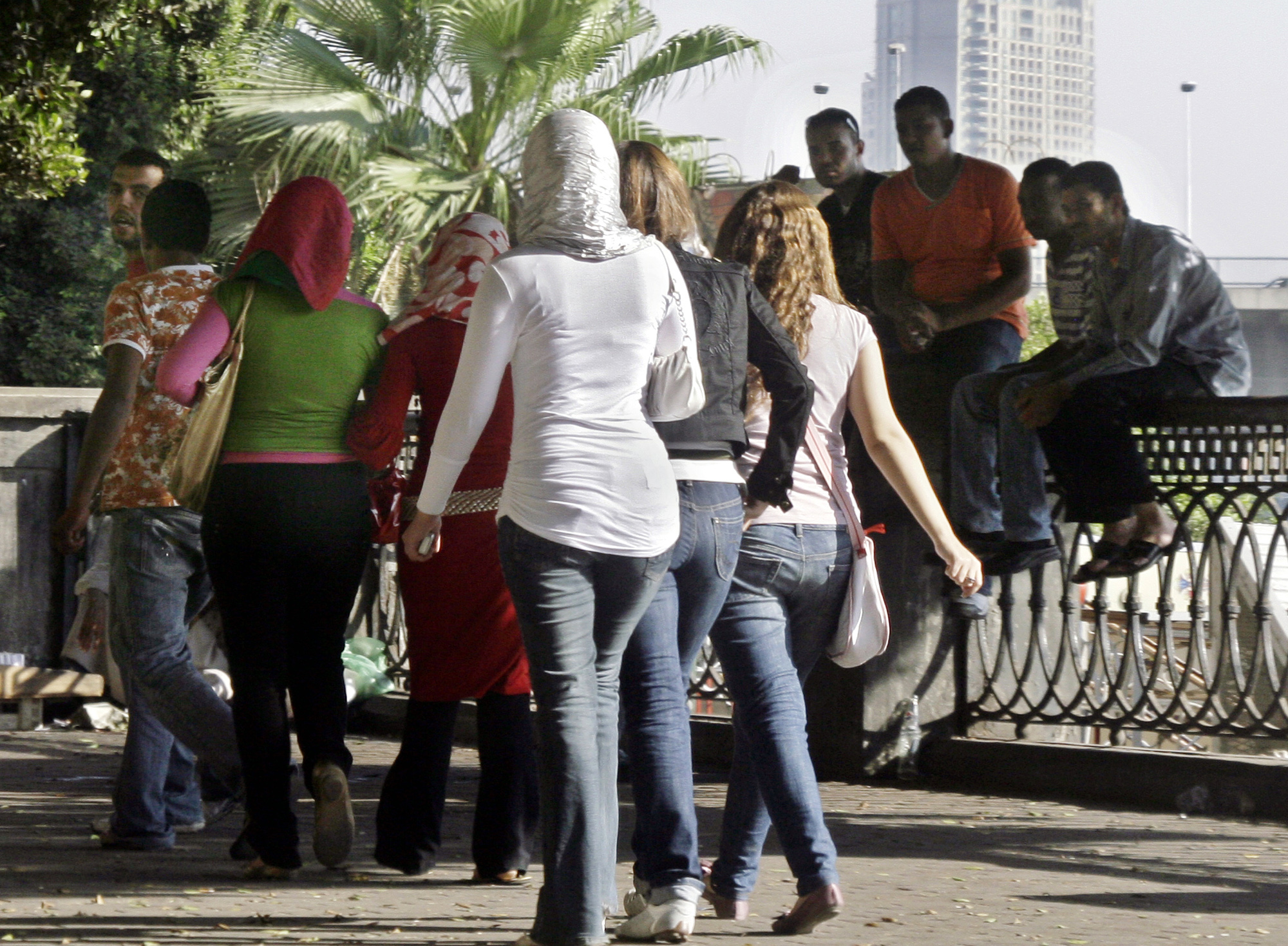 "In a recent report on harassment cases between June 2014 and June 2015, ""I Saw Harassment"" counted at least 1,964 reported incidents across Egypt. (DNE File Photo)"