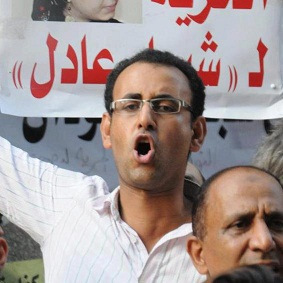 Al Husseiny Abu Deif was shot dead during the presidential palace clashes in December 2012