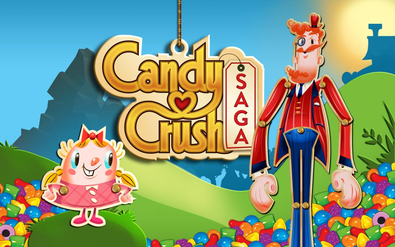 Candy Crush Saga, a game that has millions of fans around the world
