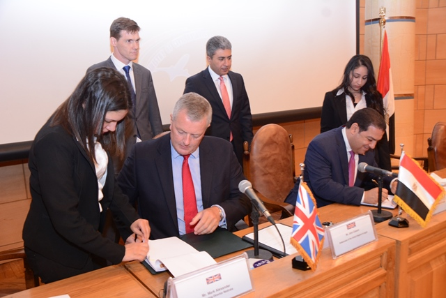The agreement was signed by CEO and managing director of National Falcon Sherif Khaled and managing director of Restrata Mark Alexandre.