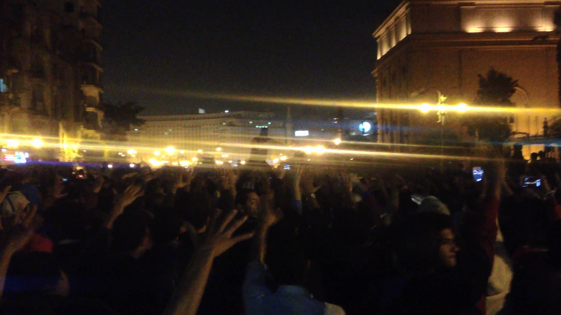 Thousands gathered in Tahrir Square to the Cairo Criminal Court's decision to drop charges against Mubarak.