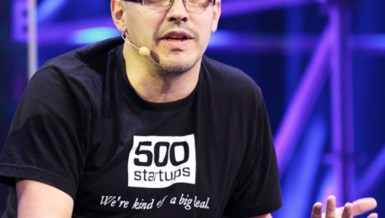 Investor and co-founding partner of Silicon Valley Dave McClure Courtesy of the Rise up Summit Facebook page