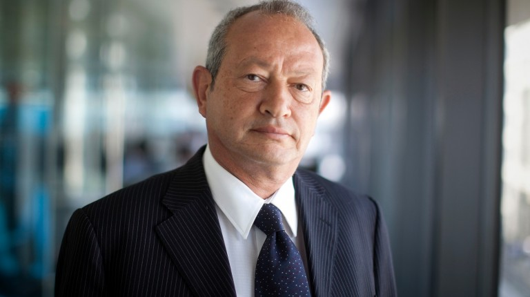 Egyptian billionaire Naguib Sawiris