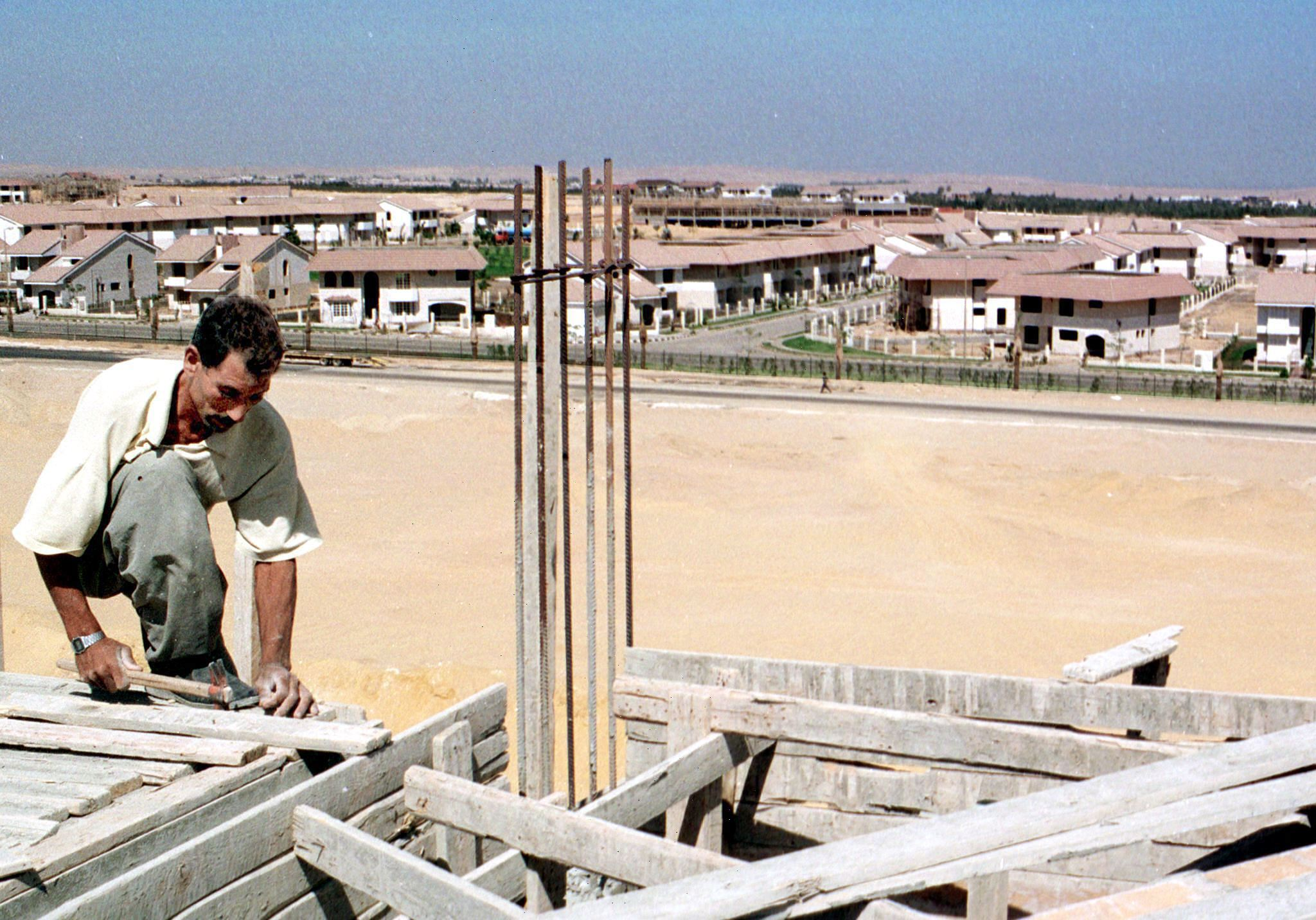 Total spending on construction of residential buildings registers a decrease of 12.60% in 2012/2013. (AFP Photo)