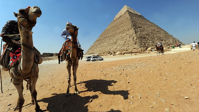 The GCC is a main target for Egypt in reviving tourism in the country  (AFP Photo)