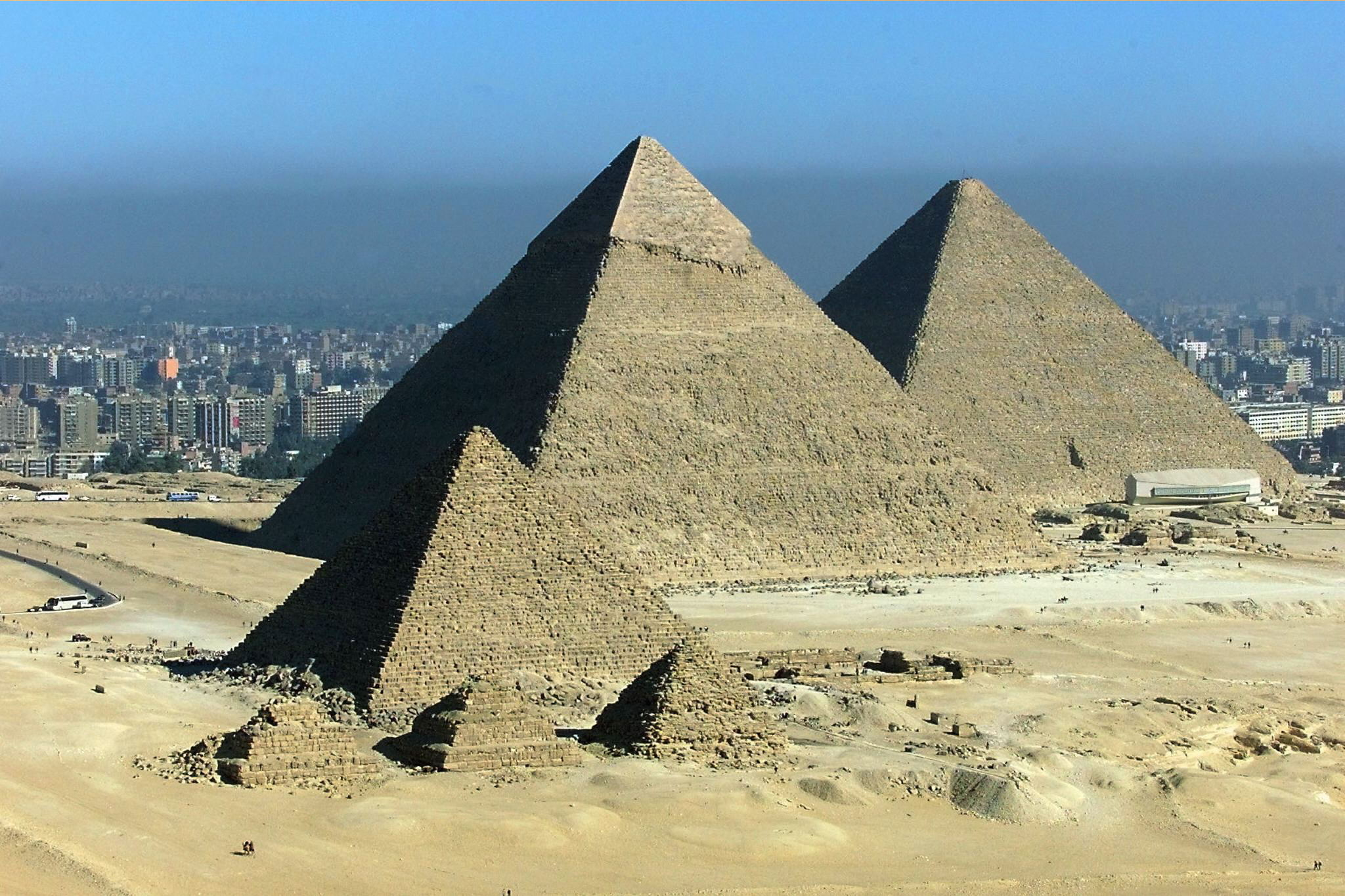 The Great Pyramids of Giza. (AFP File Photo)