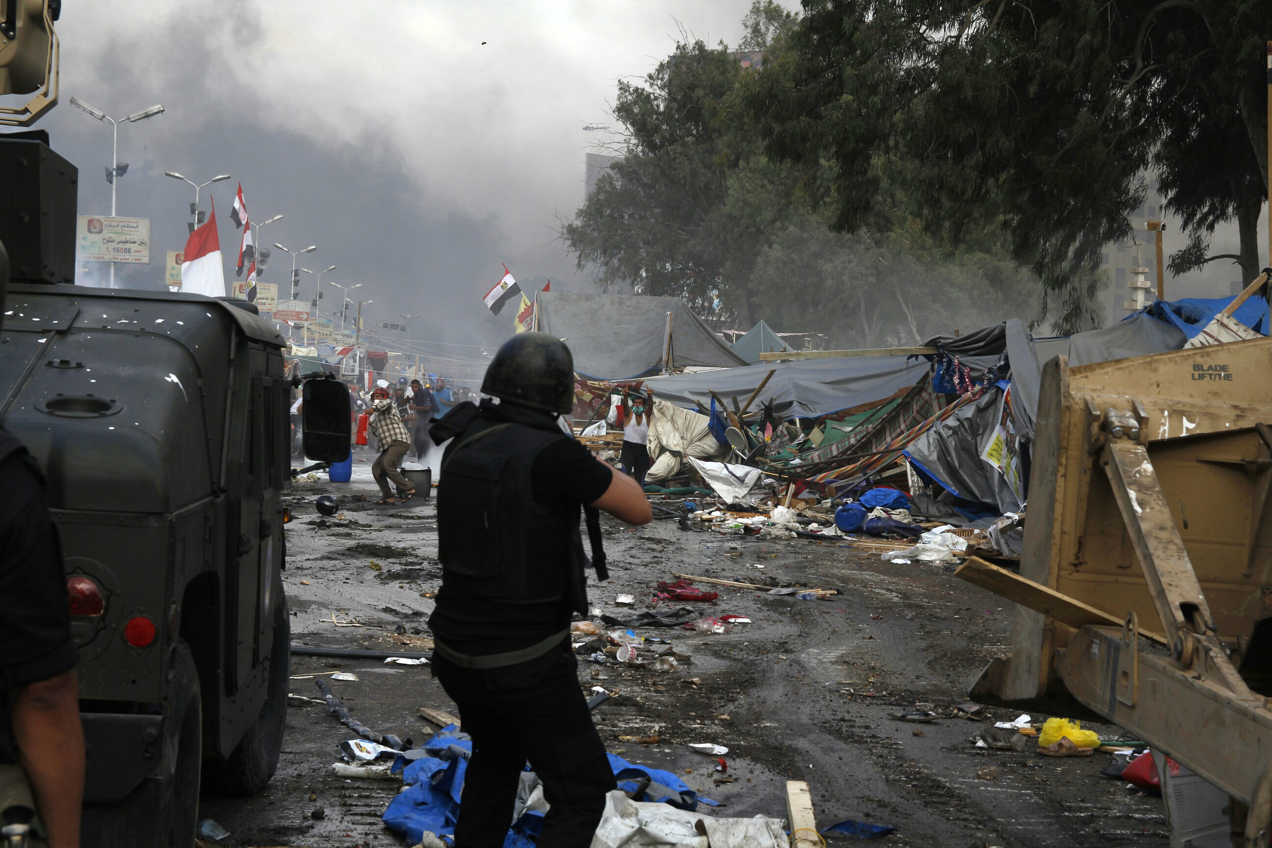 Pro-Morsi Protesters Clash With Security Forces