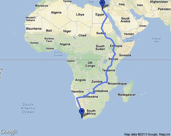 The international road project between Cairo and Cape Town will be built on a length of 170km with a cost of $140m (Photo courtesy of Africa geographic website )