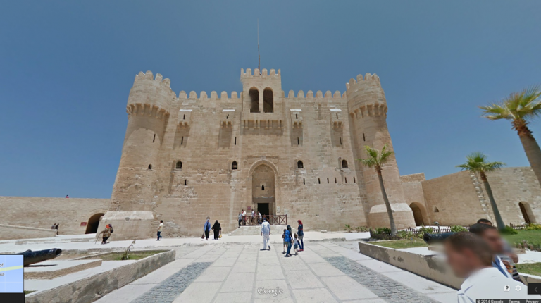 Google launches a 360-degree street view imagery of Egypt's