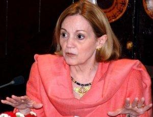 Former US Ambassador to Egypt Anne Patterson (AFP photo)