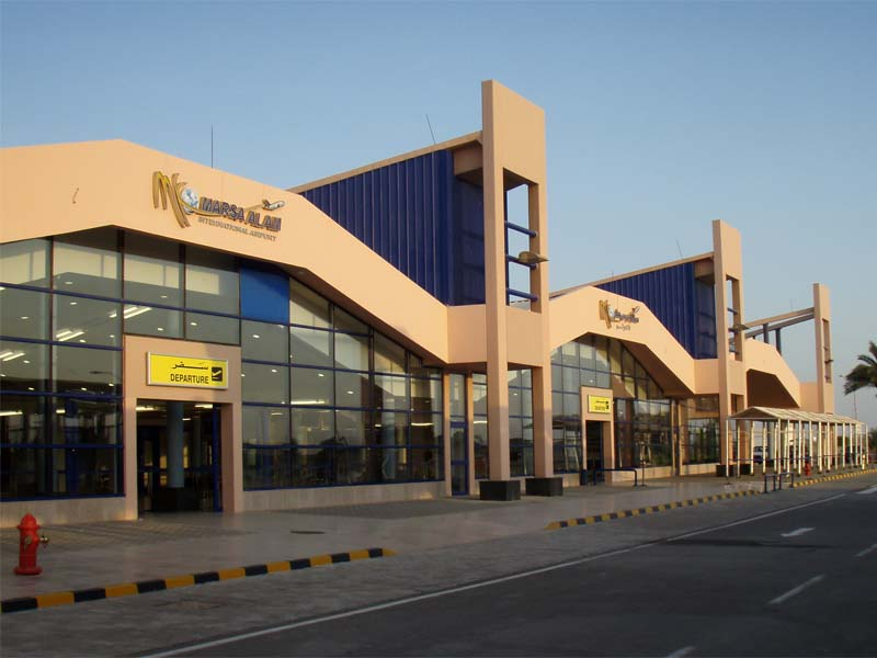 Marsa Alam airport  (Photo from Wikimedia)