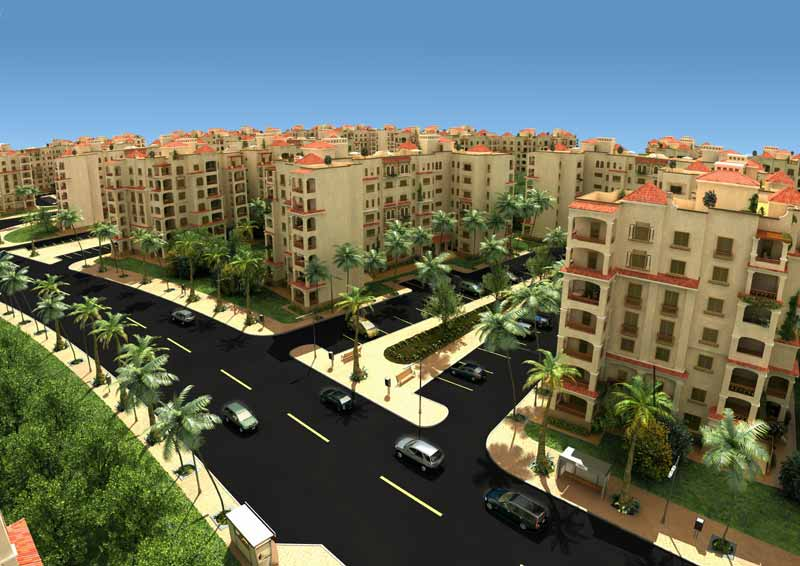 TMGH will pay the government approximately EGP 2.9bn, in addition to 3.2m sqm of Madinaty's completed lots (Photo courtesy from Madinaty website)