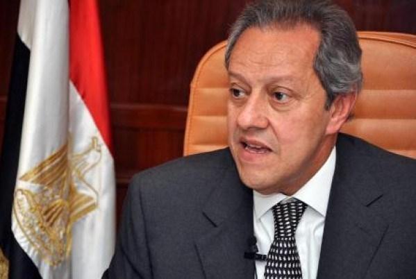 Industry Minister Mounir Fakhry Abdel Nour Abdel Nour
