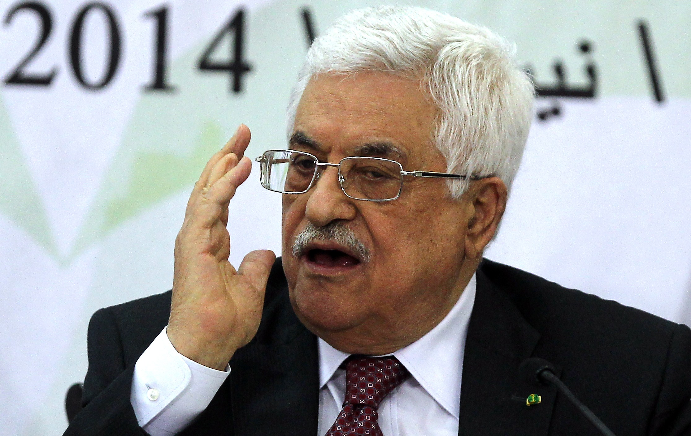 Palestinian Authority President Mahmoud Abbas (AFP Photo)