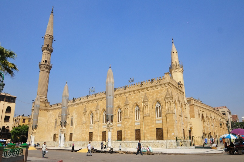 Al Hussein Mosque at Al Azhar (Photo by Hassan Ibrahim)