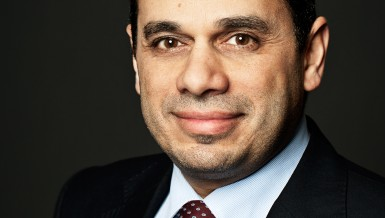 Naji Jreijiri, chairperson and CEO of ABB