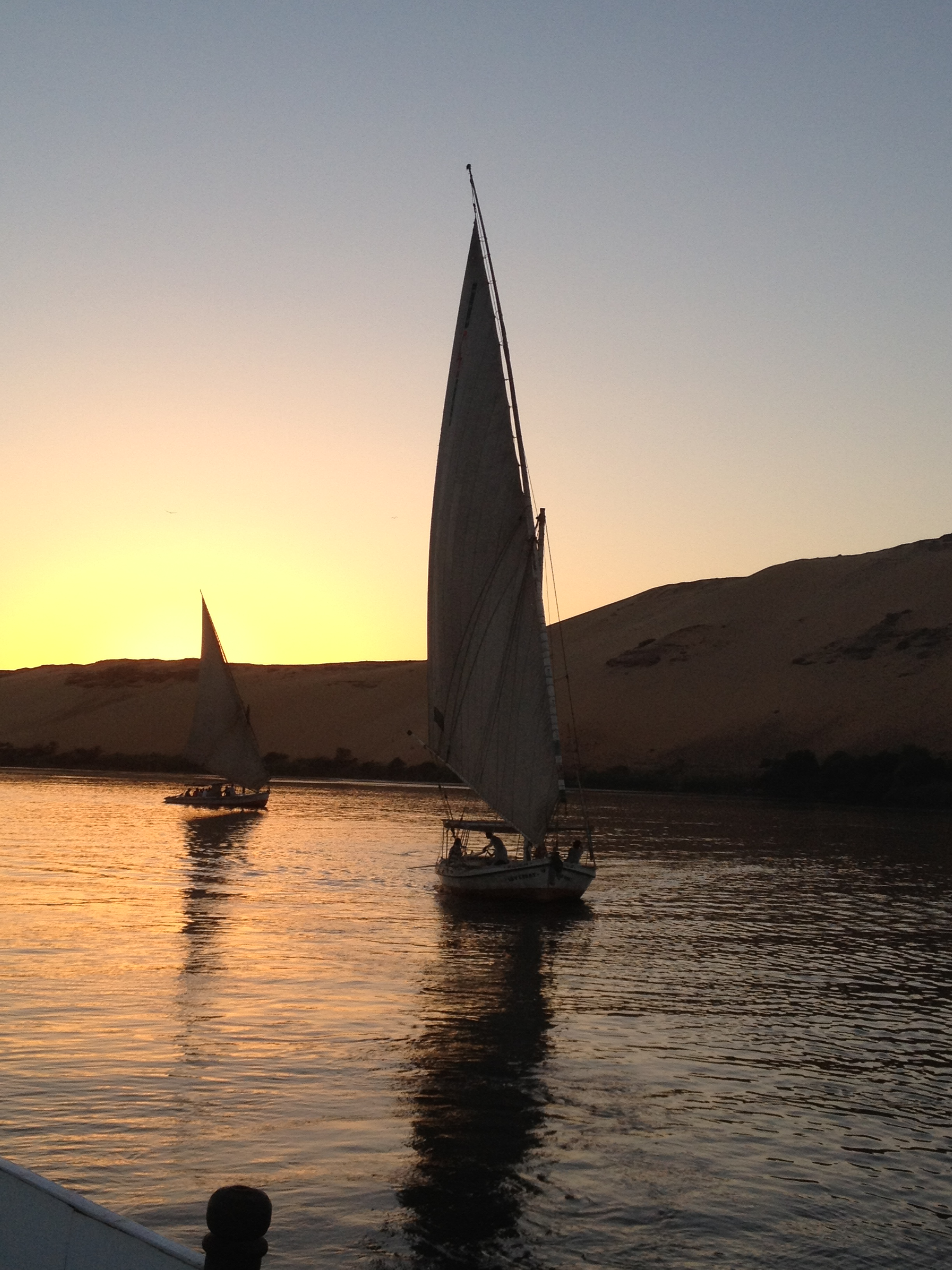 Aswan is undoubtedly one of the most beautiful places in Egypt and with no tourists and perfect weather, there is no better time to go. (Photo by of Thoraia Abou Bakr)