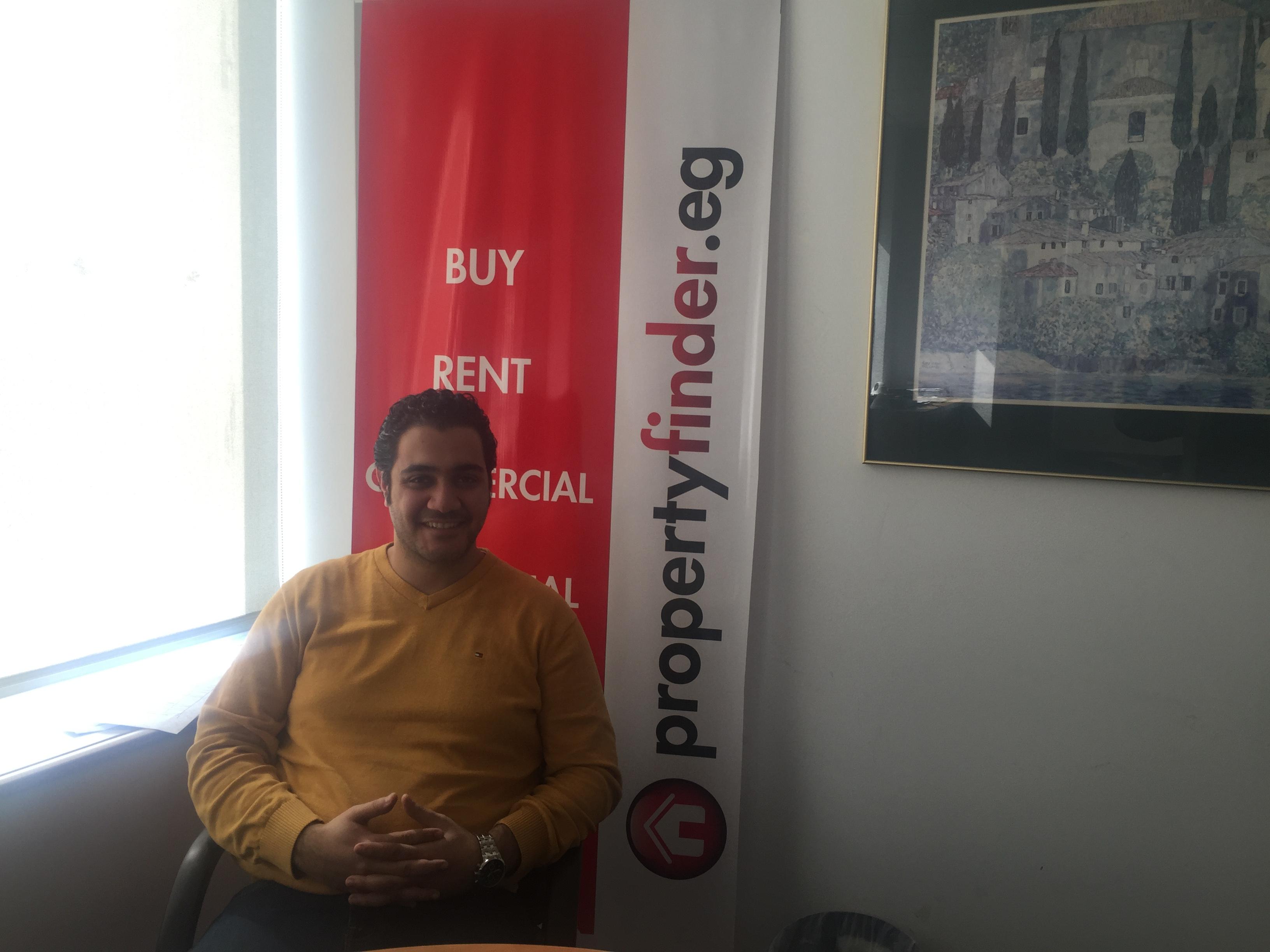 Mohamed Hammad, CEO of digital marketing platform Property Finder (Photo courtesy of Property Finder)