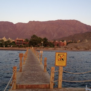 Photo of a Taba resort before the floods (Photo by Thoraia Abou Bakr)