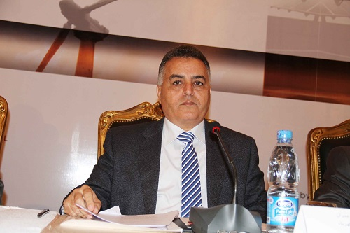 Mohamed Moussa Oumran, first secretary at the Ministry of Energy and Electricity (DNE Photo)