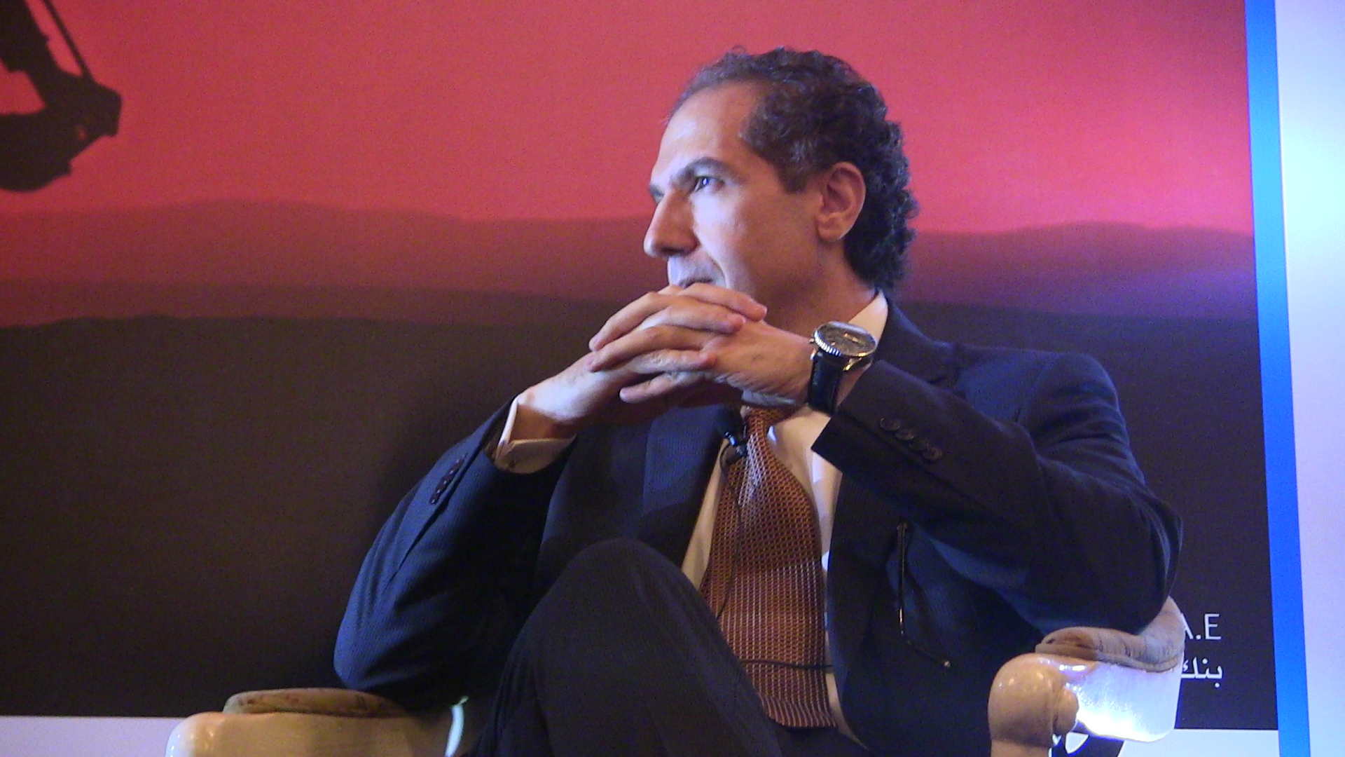 Mostafa Hegazy, political adviser to President Mansour  (DNE Photo)