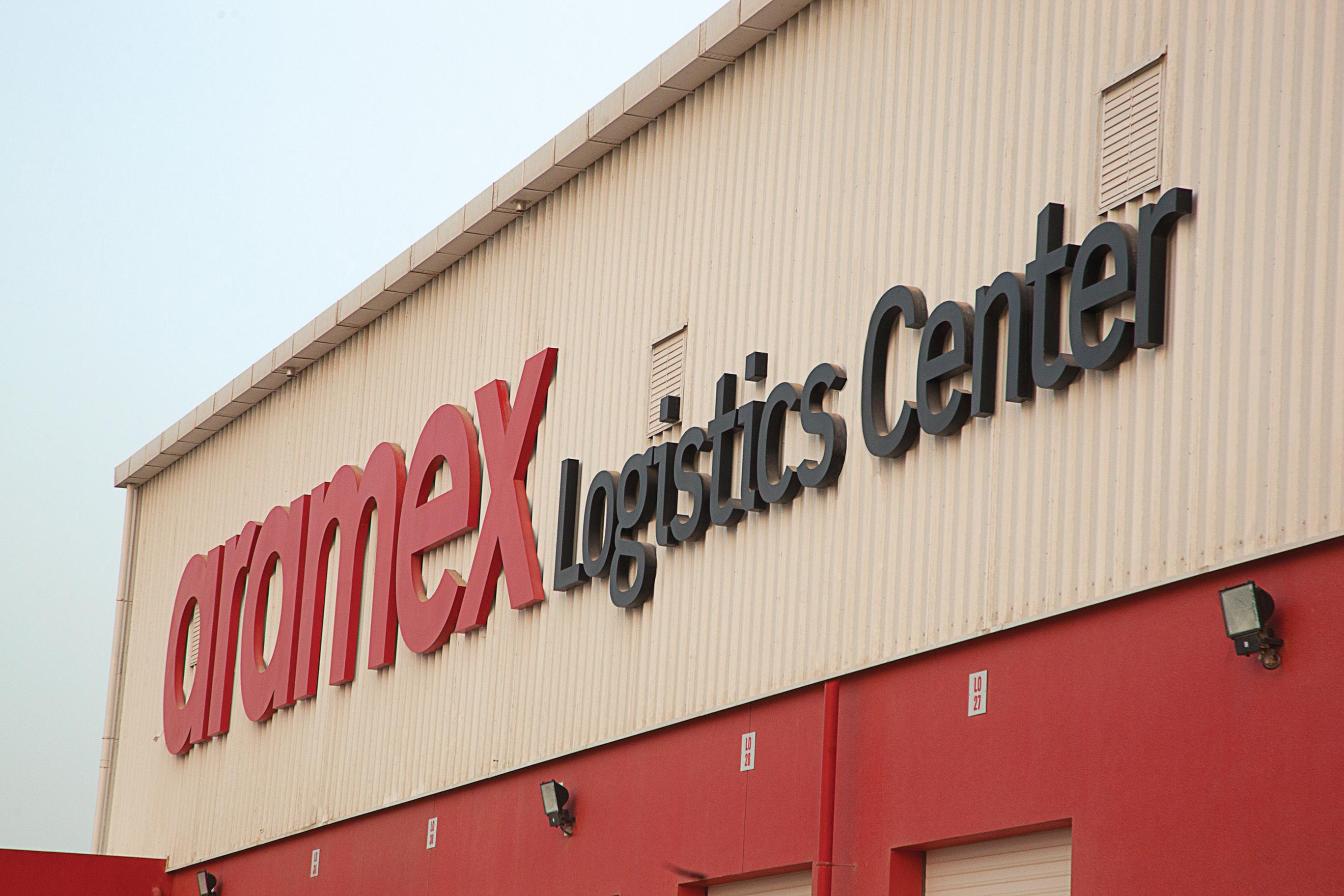 Aramex's logistics centre in Dubai Logistics City (Photo from Aramex Website)