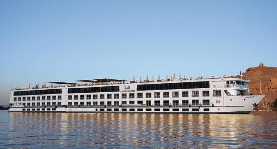 90% of floating hotels have not been working since 2011. Photo from Touregypt website