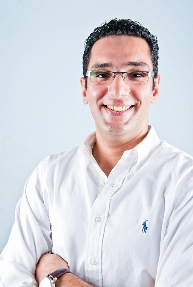 "Mahmoud Abdelfattah, CEO and founder of ""Bkam"" website (Photo Handout to DNE)"