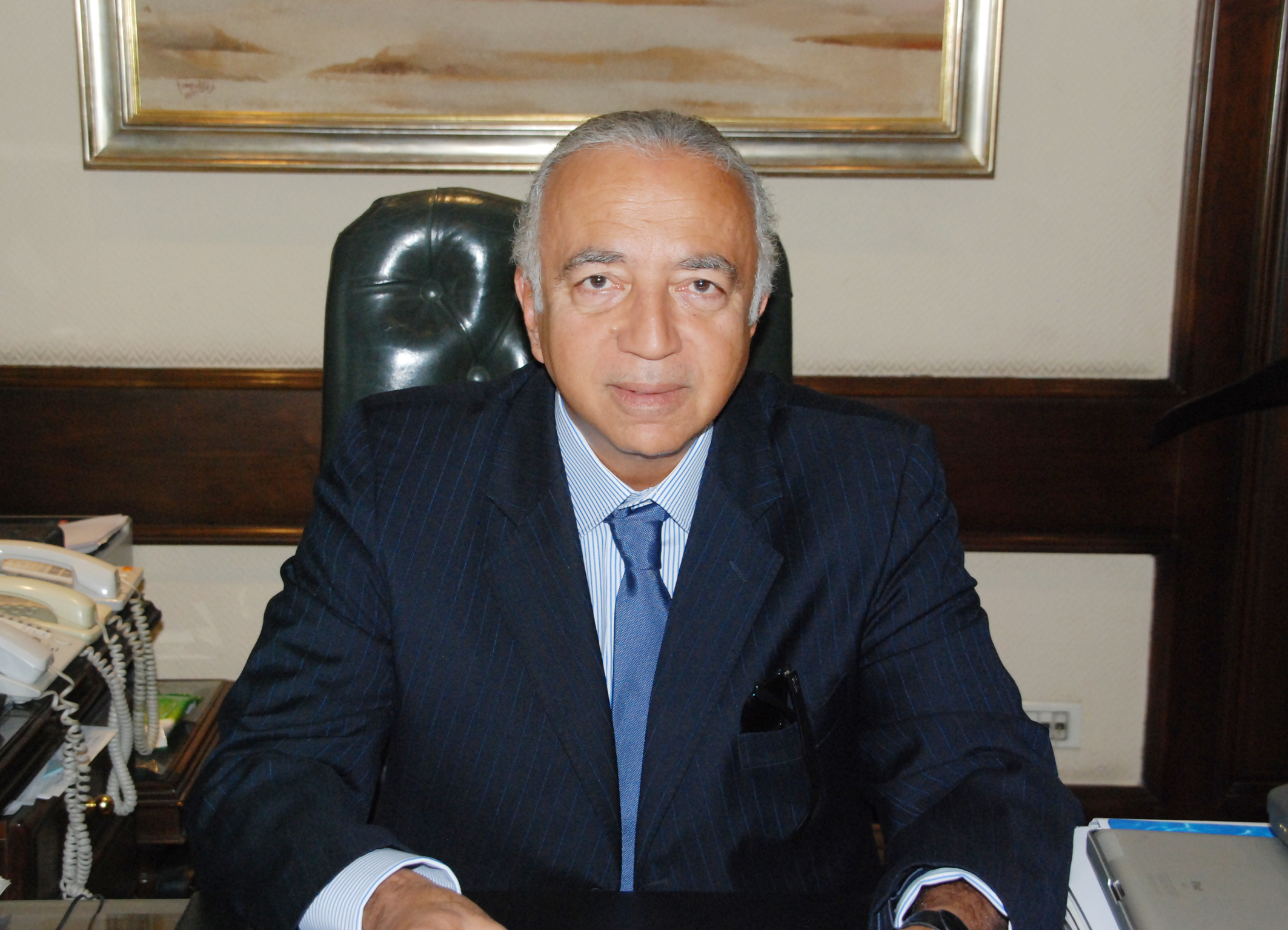 director of the risk management department at an international financial institution, Zakaria Salah (Photo Handout to DNE)