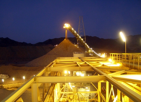 The Sukari goldmine is expected to produce 420,000 gold ounces in 2014 (Photo courtesy of Centamin Egypt)