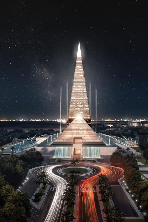 Zayed Crystal Spark will be built on an area of 190 acres (798,000qsqm) (Photo courtesy of ministry of housing)