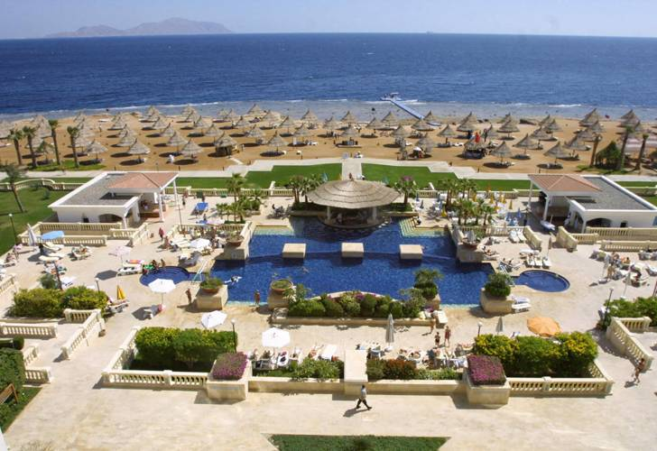 Sharm El-Sheikh has seen an increase in number of tourists during the past period (AFP Photo)