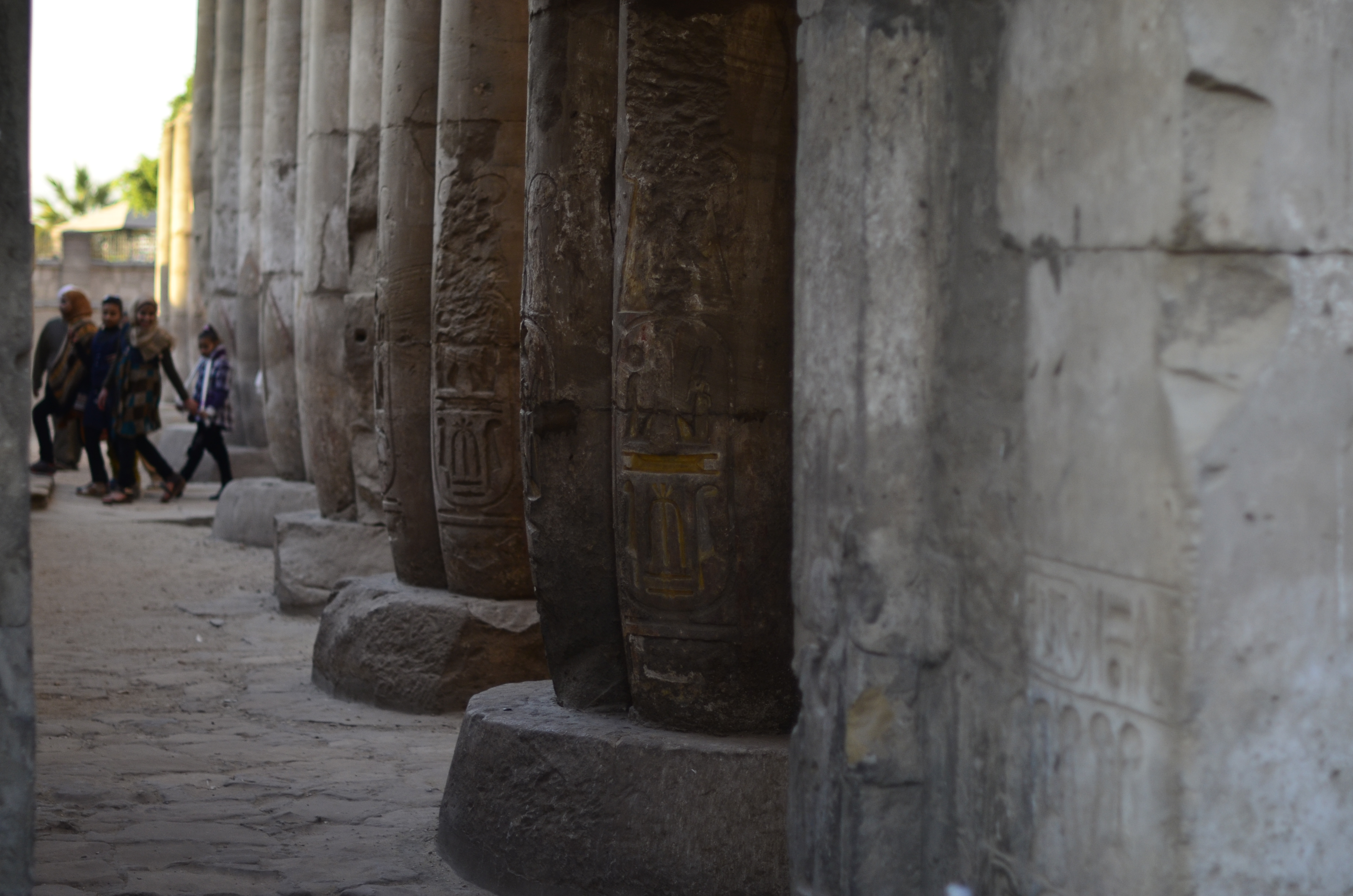 Few tourists make it to Luxor these days; those who do are mostly Egyptians (Photo by Johannes Makar)