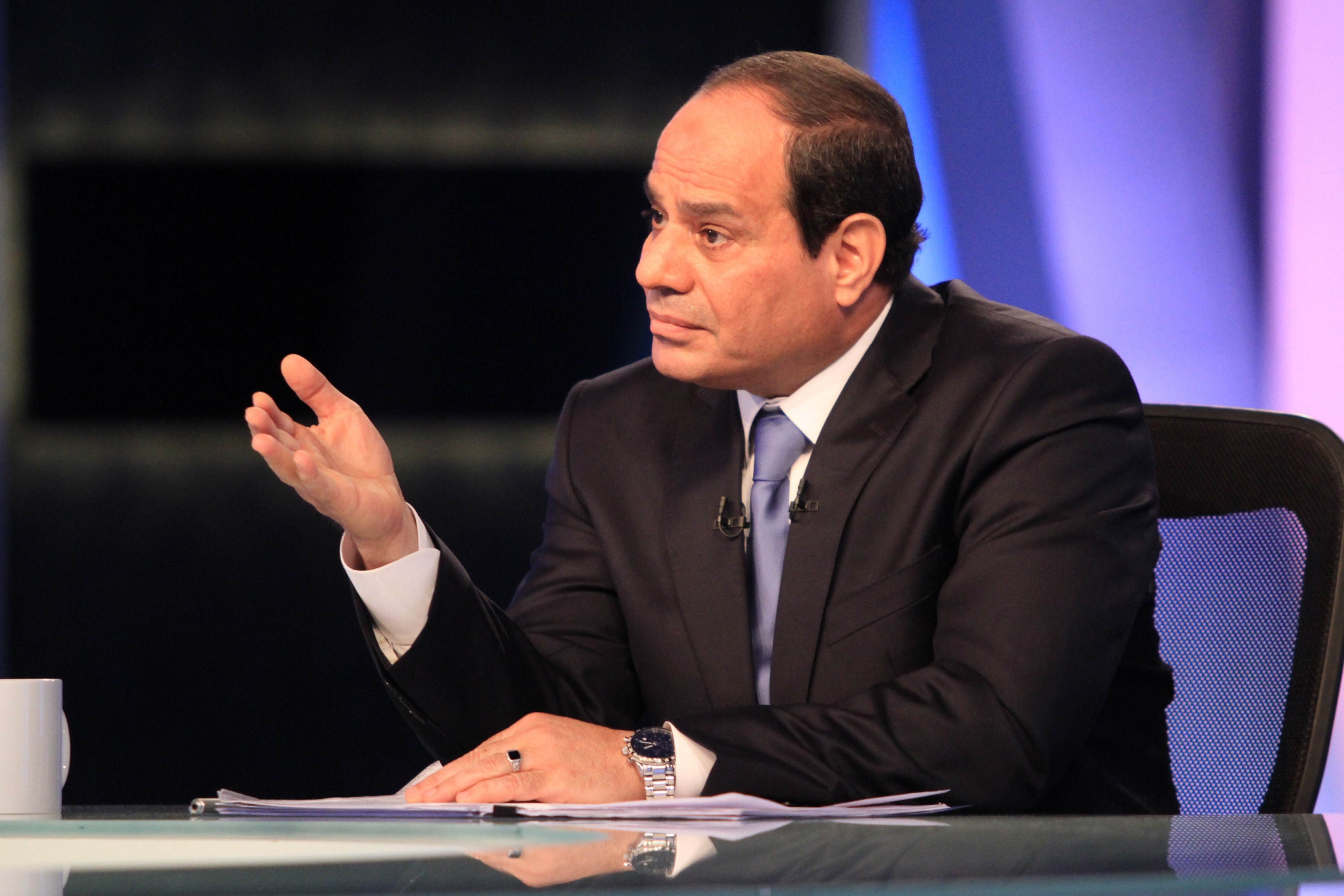 President  Abdel Fattah al-Sisi  (AFP PHOTO/STR)